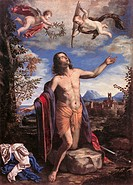 St Victor, by Giovanni Francesco Guerrieri, 1654, 17th Century, oil on canvas, cm 252 x 182. Italy, Marche, Pesaro Urbino, Urbino, Marche National Gal...