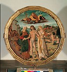 Hercules at the Crossroads, by Gerolamo di Benvenuto, 1500 post, 16th Century, cm 57. Italy, Veneto, Venice, Ca dOro. All. Wedding table dish good ome...