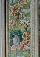 Frescoes of the Chapel of the Magi, by Benozzo di Lese di Sandro known as Benozzo Gozzoli, 15th Century, 1459 _1460 about, fresco. Italy, Tuscany, Flo...