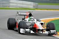 Vitantonio Liuzzi, ITA, HRT, Formula 1, Belgian Grand Prix 2011, Spa-Francorchamps race track, Belgium, Europe