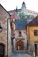 Farska Bratislava street, Bratislava, Slovakia, Europe, PublicGround