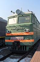Russian electric locomotive VL10, built in 1970