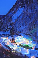 Sounkyo Icefall Festival
