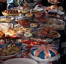 Cake Stall Royal Wedding Street Party London