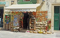 Souvenir Gift Shop Otranto Puglia South Italy