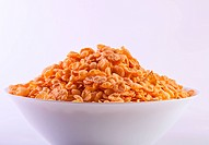 Goldish corn flakes