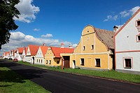Holasovice. Unesco World heritage site. South Bohemia