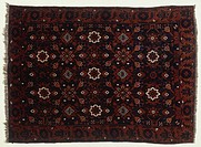 Rugs and Carpets: Iran - 19th century. Varamin Khaki carpet, weaved by nomadic people of Varamin