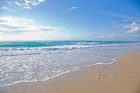 sunny day at the beach Surfers Paradise Australia