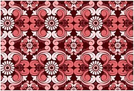 Seamless Damask Pattern for Background _ Vector