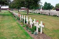 War cemetery in France, Bethune