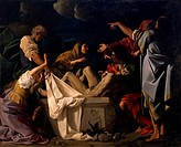 The burial of Christ, by Bartholomew Schedoni 1578_1615