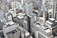 Skyline of Sao Paulo, Brazil.