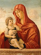 Madonna and Child by Giovanni Bellini 1431_36 _ 1516, tempera on panel, 83x62,5 cm, circa 1470