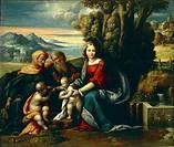 Holy Conversation, by Benvenuto Garofalo (1481-1559).  Padova, Musei Civici Eremitani, Museo D'Arte Medievale E Moderna (Medieval And Modern Art Museu...