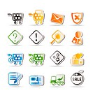 Online Shop Icons _ Vector Icon Set