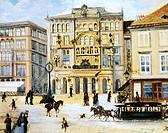 Karl theatre in Vienna, Austria 19th Century.  Vienna, Historisches Museum Der Stadt Wien (History Museum)