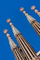 Sagrada Familia church in Barcelona. Taken on April 2011