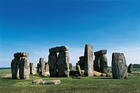 United Kingdom - England - Wiltshire County - Megalithic monument of Stonehenge (UNESCO World Heritage List, 1986), Neolithic and Bronze Age, 3rd-2nd ...