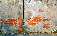 a wall of bricks. background for posters and text space