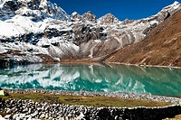 Gokyo lake in Himalaya mountains, Nepal