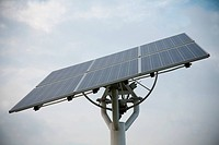 Solar power generation with panels