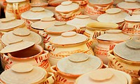 traditional ceramic pottery