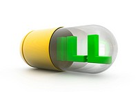 ill letter inside the capsule