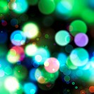 Defocused abstract christmas lights background