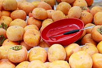 Persimmon fruits for sale