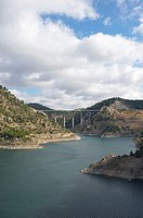 Contreras reservoir between Valencia and Cuenca, Cuenca, Spain