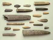 Fossils - belemnites.
