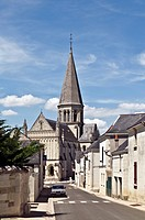 Municipal church of Brézé, near Saumur, department of Maine-et-Loire, France, Europe