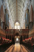 United Kingdom - England, London, Westminster Abbey (UNESCO World Heritage List, 1987), ext.