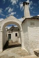 Italy - Apulia Region - Murge Plateau - Alberobello - Trullo Sovrano - UNESCO World Heritage Site since 1996
