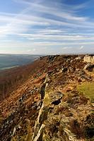 Froggatt and Curbar Edge, Peak District National Park, Derbyshire, England, United Kingdom, Europe