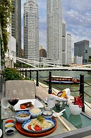 Asia, Singapore, lunch at the Fullerton Hotel                                                                                                         ...