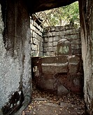 Asia, Cambodia, ruins of Koh Ker ...