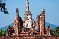 Wat Mahathat Sukhothai, Thailand