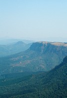 Mpumalanga, South Africa, view of the lowveld from God´s window