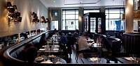 dining area _ Cafe Luc _ European´ Grand Cafe, a stylish and vibrant brasserie.´, LONDON, UNITED KINGDOM, Architect