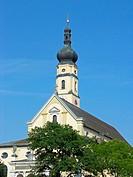 Kirche Maria Himmelfahrt in Deggendorf, Bayern