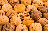 Walnut for background