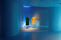 Cristobal Balenciaga Fundation Museum, Getaria, Basque Country, Spain. AV62 Arquitectos, Interior view of exhibition, AV62 ARQUITECTOS, SPAIN, Archite...