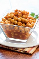 Chickpeas curry or chana masala is a delicious curry that is a very popular side dish in Indian food.
