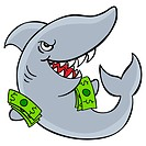 An image of a loan shark.