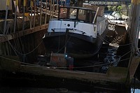olivers boat yard brentford london england