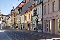 Hauptstrasse main street, Brandenburg an der Havel, Brandenburg, Germany, Europe