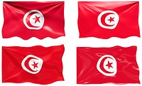 Great Image of the Flag of Tunisia