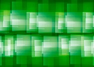 Green and white overlapping geometric patterns abstract background